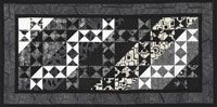 Two-Tone Star Table Runner