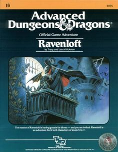 Ravenloft:  My favorite DnD module