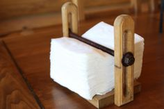 Figure out how to make this...Hand made Rustic Pine Napkin holder by RedNeckWoodCrafts on Etsy, $20.00