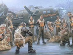 and its crew by Gil Cohen Ww2 Aircraft, Military Aircraft, War Thunder, Aircraft Painting, Airplane Art, Ww2 Planes, Aircraft Pictures, Nose Art, Aviation Art