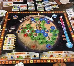 I'm counting down my top 10 games of number 6 is TERRAFORMING MARS! This is a euro game about colonising and Terraforming the red planet. Board Game Design, Board Game Geek, Fun Board Games, Man Games, Games For Kids, Games To Play, Game Creator, Strategy Games, Play To Learn