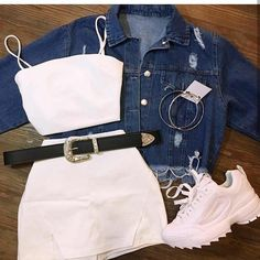 AranzaDrive ❁ Source by juvenil femenina moda Clueless Outfits, Cute Lazy Outfits, Really Cute Outfits, Cute Swag Outfits, Girly Outfits, Mode Outfits, Retro Outfits, Simple Outfits, Stylish Outfits