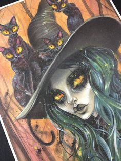 Cat in the hat with Jade Witch by Dustin Bailard.