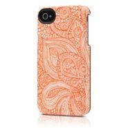 Uncommon iPhone 4s deflector case in orange paisley print