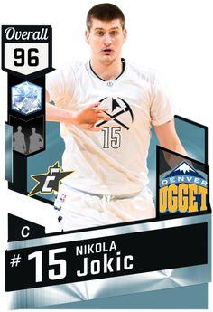 Nikola Jokic (96) MyTEAM Amethyst Card Sports Basketball, Basketball Cards, College Basketball, Basketball Players, Best Nba Players, Best Player, Funny Nba Memes, Nba Draft, Wnba