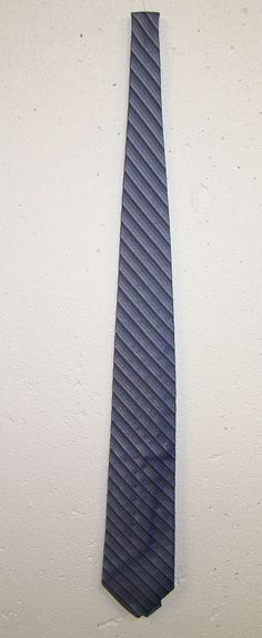 Joseph Abboud Mens Blue Striped 100% Italian Silk Dress Neck Tie Necktie 60in #JosephAbboud #Tie