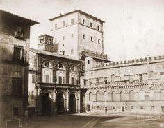 Piazza San Marco ca) Lost City, Old Photos, Rome, Exterior, History, Architecture, World, Places, Travel