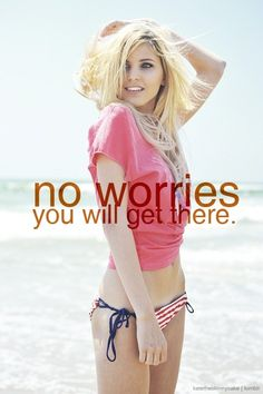 Remember to not stress out about weight loss... Stress causes weight gain. Relax... I'll get there :)