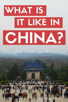 WHAT IS CHINA REALLY LIKE? Thoughts from an American living in Nanjing, China in vlog form. video blog https://www.youtube.com/watch?v=_Ecisodid2Y What its like in China tourist visit visiting live living expat life european australian white girl woman women travel traveling story experience ttot wander wanderlust explore discover shanghai beijing guangdong chengdu youtube thoughts opinions history culture culture shock people nice love country general impressions generalized overall big…