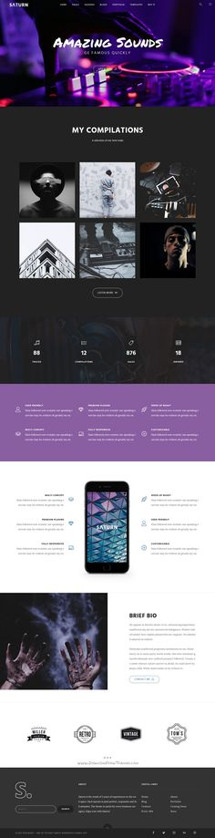 Saturn is a Multiuse and Accurate responsive #WordPress #Theme for any professional use like agency, business, freelance, #studio, blog, portfolio or photography website with 20+ Homepage and 100+ inner pages download now➩  https://themeforest.net/item/saturn-multiuse-and-accurate-wordpress-theme/19220340?ref=Datasata