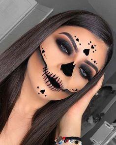 Amazing Halloween Makeup, Halloween Looks, Halloween Witches, Halloween Images, Amazing Makeup, Halloween Night, Diy Halloween, Happy Halloween, Maquillage Horrible