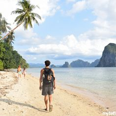 Palawan rarely fails to leave us speechless. It's jungle-topped karst mountains and shimmering white beaches are the stuff of postcards. Why not visit while you're teaching English in the Tefl Certification, Palawan, Teaching English, Philippines, Beaches, Postcards, Fails, Adventure, Mountains