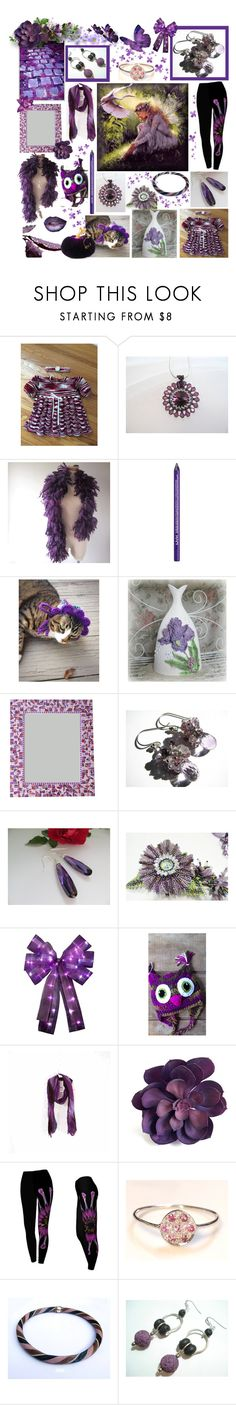 """Purple Passion"" by belladonnasjoy ❤ liked on Polyvore featuring Pixie, NYX and vintage"