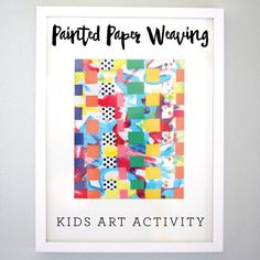 Painted Paper Weavin