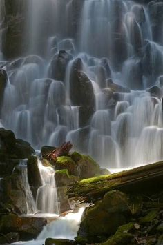 Ramona Falls, Oregon.