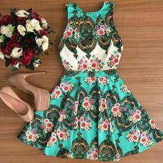 Fashion Sling sleeveless print dress #AD61203YT