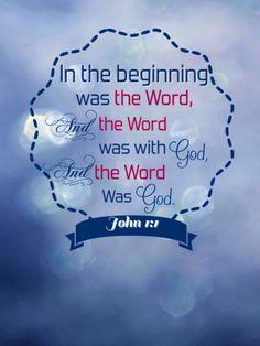 John 1:1 KJV╰⊰✿