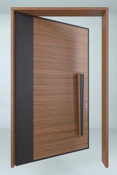 hotel door Creating unique and exclusive design de - hotel Modern Entrance Door, Main Entrance Door Design, Wooden Main Door Design, Modern Exterior Doors, Double Door Design, Door Gate Design, Room Door Design, Door Design Interior, Modern Door