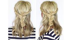 Beautiful braid for medium to long hair