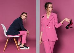 New collection #GirlBoss | Sho off your skills, not your heels | shop www.theITem.com Girl Boss, Blazer, Heels, Jackets, Shopping, Collection, Women, Style, Fashion