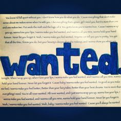 Best song ever #hunterhayes#wanted