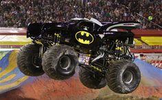 Monster Trucks Batman Front View