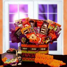 Halloween Spooky Basket.42 Best Halloween Gift Baskets Images In 2012 Halloween