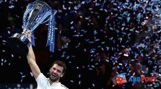 Dimitrov'dan İlk ATP Dünya Turu Finalleri'nde şampiyonluğu, Belçikalı David Goffin'i 2-1 yenen Bulgar Grigor Dimitrov elde etti. #ABDhaberleri @abdpostcom