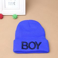 Winter Warm Toddler Baby Girl Boy Woolen Skull Hats BOY Beanie Caps Hats