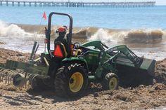 Waves Leave Goleta Beach Layered in Seaweed - Santa Barbara News - Edhat