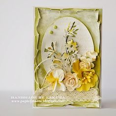 Shabby Chic Cards, Paper Cards, Quilling, Cardmaking, Decorative Boxes, Scrapbooking, Creative, Floral, Projects