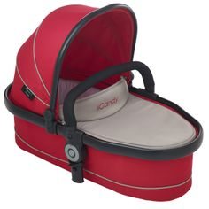 Peach 3 Blossom Carrycot Sherbet - Optional extra carrycot suitable from birth and overnight sleeping. Comes complete with padded mattress and raincover. Ideal until baby can sit unaided or weighs 9kg. http://www.icandyworld.com/uk/en/product/peach-3