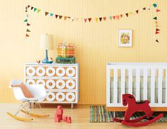Get ready to be inspired -- we've rounded up the most stylish gender-neutral nurseries. Patterns and bold accessories are the new pinks and blues.