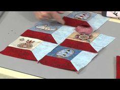 Three Dimensional Window Blocks featuring Open Your Window Quilt Pattern - Zen Chic - YouTube