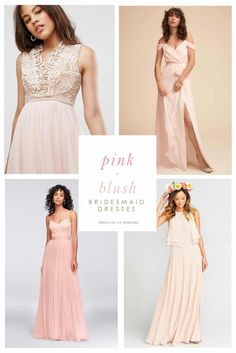 Your guide to finding pretty blush pink bridesmaid dresses or for weddings with a blush or pink color scheme. Cute bridesmaid dresses in rose, blush, pink, hot pink! Find blush and pink dresses for your bridesmaids easily! Blush Bridesmaid Dresses Long, Pink Dresses, Bridesmaids, Wedding Dresses, Bridesmaid Color, Bride Dresses, Bridal, Spring, Marie