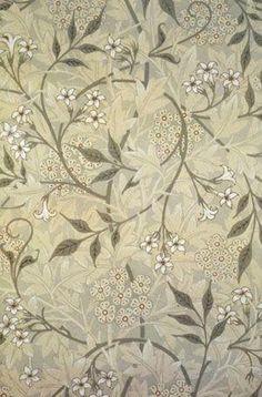 Jasmine Wallpaper, 1872 by William Morris by lynnette