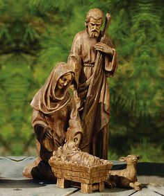 Holy Family Nativity Statuette #zulily #zulilyfinds