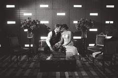 Modern Vintage Virginia Beach Wedding by Jen and Ashley and Jeremy Mitchell Cinema
