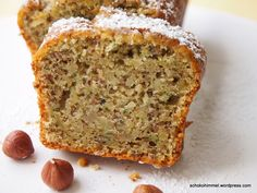 Juicy zucchini nut cake & a sugar-sweet floral greeting - chocolate heaven - Trend Pretty Cakes 2019 Easy Pumpkin Pie, Baked Pumpkin, Pumpkin Dessert, Pumpkin Cheesecake Recipes, Pumpkin Recipes, Oreo Cheesecake, Healthy Cake, Healthy Sweets, Cake Courgette