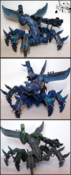 J's Thousand Sons Defiler 2 - Tzeentch Soul Grinder 40k
