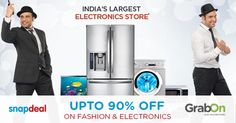 Shop and Grab Upto 90% OFF on Fashion, Electronics and many more. Hurry Up! #GrabOn #FashionOffers #ElectronicsCoupons