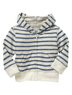 Gap Stripe hoodie and it has matching terry shorts!