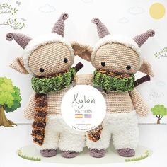 Amigurumi Pattern: The hippopotamus Melman and his friend Pi – Tarturumies Crochet Blanket Patterns, Crochet Stitches, Crochet Hats, Welcome Spring, Yarn Ball, Happy Weekend, Amigurumi Doll, Softies, 2nd Anniversary