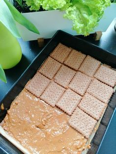 Slow Food, Baking Tips, Griddle Pan, Cake Cookies, Cornbread, Tart, Food And Drink, Pudding, Cooking