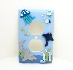 Lovely Nursery Switch Plate