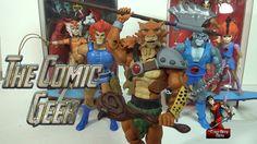 Jackalman - Thundercats Classics Mutant Toy Review