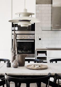 Kitchen photo by Emma Jonsson Dysell, styling by Ida Lauga via Fantastic Frank