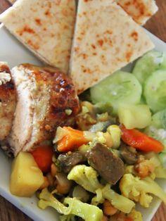 Indian Inspired Dinner Menu