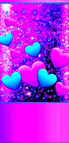 Luxury Wallpaper, Pink Wallpaper, Wallpaper Ideas, Heart Iphone Wallpaper, Heart Pictures, Blue Wallpapers, Gold Heart, Valentine Heart, Love Art