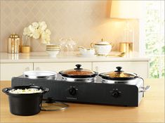 Buy A Trilogy 3-Station Slow Cooker at HomeChoice